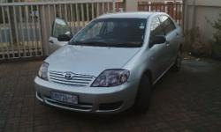 2005 corolla 160i gle,4 brand new tyres,cd