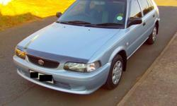 2005 TOYOTA TAZZ / ONE LADY OWNER / PENSIONER