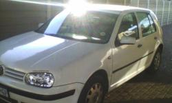 Golf 4 1.6 papers inorder and it moves. Just takes a
