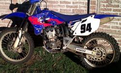 YZ250F for sale . WR gearbox, maxxi tyers ±80% . few