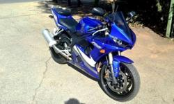 2005 Yamaha YZF-R6 19 000km R59 900 CONTACT: