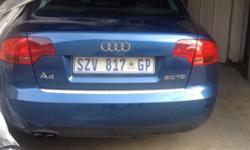 a4 20 TDI ,very neat condition . Accident free, got a