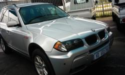 2006 BMW X3 2.5I 6SPEED (M) FULL HOUSE LEATHER INTERIOR