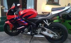 I am selling a 2006 cbr 600rr. Immaculate condition for