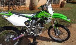 very clean KX250F FMF pipe, new sticker kit, fork seals