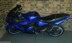 Zx1400 R70000 neg new sprockets and chain,brakes and