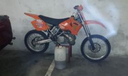 I have a 2006 ktm sx 250 in good condition awesome bike