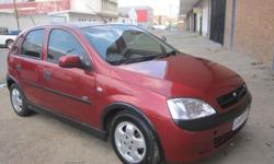 The all new 2006 Opel corsa 1.4 with an amazing cruise