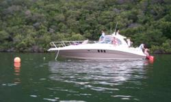 Beskrywing Sea Ray 42.5ft offshore cruiser. 2x 385 hp