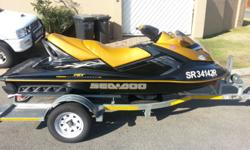 Jet ski has just been serviced and has 54 hrs. Custom