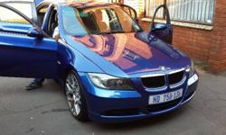 2007 Bmw 320i, with FSH with Bmw, ex Jhb vehicle,