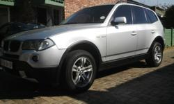 2007 bmw x3 2.0d Sunroof Woman owner 228 000 km Vehicle