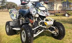 2007 Bombardier DS650X with 720cc Big Bore kit. The
