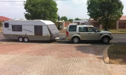 JURGENS EXCLUSIVE CARAVAN FULL TENT, WITH ALL THE EXTRA