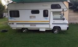 Mitsubishi Camper/Motorhome for sale. Very good