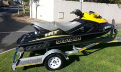 Sea Doo RXT 215 with 23 hrs, just been serviced with