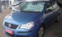 2007 Volkswagen Polo 1.4i, Blue Metallic, 133 000 km,