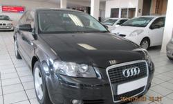 2008 AUDI A3 2.0 FSi: Cloth interior Manual 6 speed