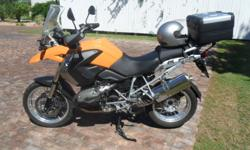 Fabrikaat: BMW Model: R1200GS Mylafstand: 38,800 Kms