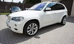 White BMW X5 3.0d in excellent condition. Full Service