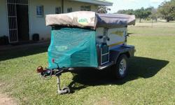 ECHO 3 4X4 TRAILER WITH THE FOLLOWING: Echo roof top
