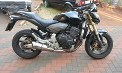 I am selling my Honda CB600 Hornet. It is a 2008 model.