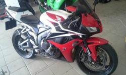 Honda cbr 600rr 2008 bike in excellent condition ,