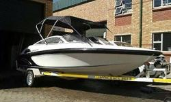 2008 Infinity18 ft with a 115 HP Mercury Optimax, motor