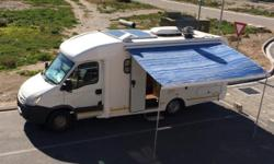 Motorhome for rent, fully equipped. Extras; Auto Sat