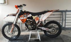 Ktm 250 sx for sale with lots of extras Phone stefan