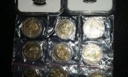 I've got 11 x Mandela 90th Birthday R5 coins