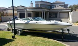 2008 Panache 2250 with 250 HP four stoke Yamaha. Boat