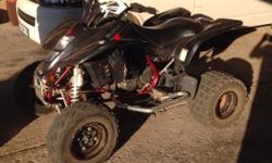 Suzuki 4 wheeler New back tyres Run 100% Like new