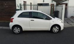 Excellent condition white Yaris T1 3 door with no