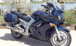 For sale is a nice blue 2006 FJR 1300 (ABS model) which