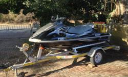 Jetski and trailer in great condition. Trailer new