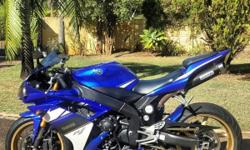 2008 Yamaha R1.  One mature bike enthusiast owner from