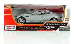 I have a brand new 2009 Aston Martin DB9 Coupe - Silver