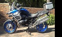 2009 BMW R1200GS ADVENTURE, BLUE, ABS AND HEATED GRIPS