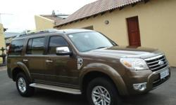 Very well kept and clean 2009 FORD EVEREST 3.0 TDCI LTD