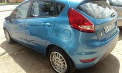FORD FIESTA 1.4 2009 MODEL 85000KM  BLUE IN COLOR