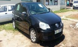 2009 Polo Hatch m1.4i Black One owner 220km Spare Keys