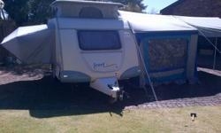2009 Sprite Scout, with full tent and Rally Tent,