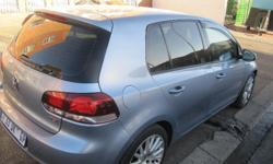 2009 VW GOLF 6 2.0 TSI. CENTER LOCK, AIR CON, AIR BAGS,