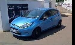 2010 Ford Fiesta 1.4 Ambiente. c/w Aircon, 2 new front