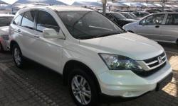 2010 Honda CR-V 2.4 Elegance Manual, White with black