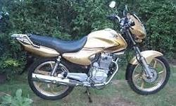 am selling my honda estorm 125 its immaculate the bike