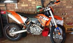 KTM 450 XCW For sale. Just been serviced. Radiator fan,