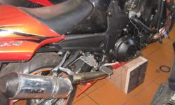 Accident Damaged Kawasaki ZX 14 - Super Bike 2011 Model