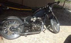 Mint condition 2011 custom heist bobber. Perfect to bob